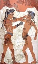 Древнегреческий рисунок